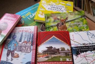 Knyga – geriausia dovana mokyklos bibliotekai