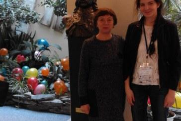 """""""Žiburio"""" gimnazistei Martynai Šalčiūtei – apdovanojimas respublikinėje anglų kalbos olimpiadoje"""
