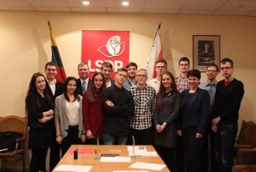 Mindaugas Rukas lieka jaunųjų Prienų socialdemokratų vedliu