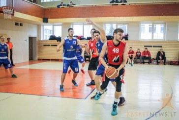 """""""Birštono"""" krepšininkai pralaimėjo paskutines grupės rungtynes, bet tęsia kovą dėl apdovanojimų"""