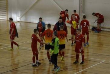 """Balbieriškio """"Ringis"""" tęsia kovą dėl AAFF salės futbolo pirmenybių medalių"""