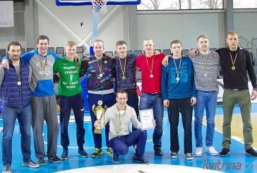 """""""Stadiono"""" krepšininkai lengvai nugalėjo finale ir tapo rajono pirmenybių čempionais"""