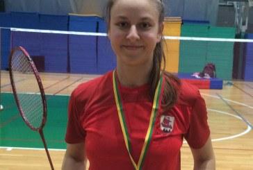Gerdai Trakymaitei – Lietuvos U-19 badmintono čempionato sidabras