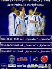 "LKL ketvirtfinalis. ""Vytautas"" – ""Juventus"""