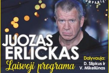 Juozas Erlickas atvyksta į Birštoną