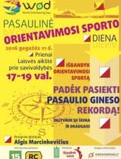 Pasaulio orientavimosi sporto diena Prienuose