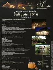 """Mėgėjų teatro festivalis """"Šaltupis 2016"""""""