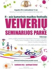 Kamerinės muzikos festivalis Veiveriuose