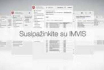 Dokumentus ir VMVT paslaugas užsisakykite IMVIS sistemoje