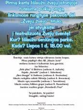 Teatralizuota Žvejų šventė Išlaužo seniūnijos parke