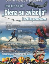 Aviacijos šventė Pociūnų aerodrome