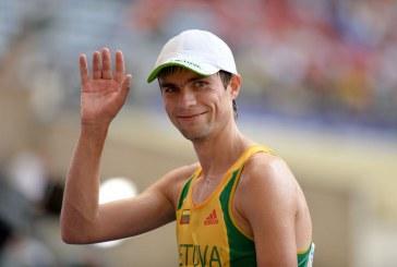 Marius Žiūkas eilinį kartą tapo šalies čempionu 20 km distancijoje. Pauliui Juozaičiui – jaunių pirmenybių sidabras