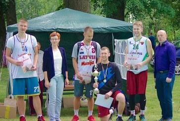 Balbieriškio vasaros šventė. Sporto varžybos. Apdovanojimai.