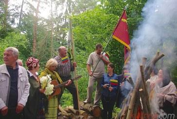 Lietuviška šventė Matiešionių didžiavyrio gimtinėje
