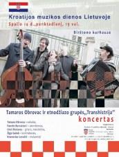 Kroatijos muzikos dienos Birštono Kurhauze