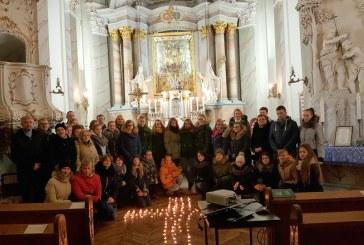 Šlovinimo vakaras Stakliškių Švč. Trejybės bažnyčioje