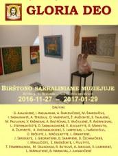 Religinio meno paroda Birštono sakraliniame muziejuje.