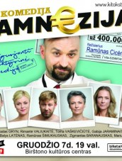 "Komedija ""Amn€zija"" Birštono kultūros centre"