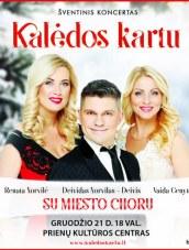"""""""Kalėdos kartu"""" – šventinis koncertas Prienuose"""