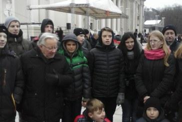 Jaunieji šauliai paminėjo Lietuvos kariuomenės dieną