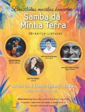 Braziliškos muzikos koncertas Kurhauze