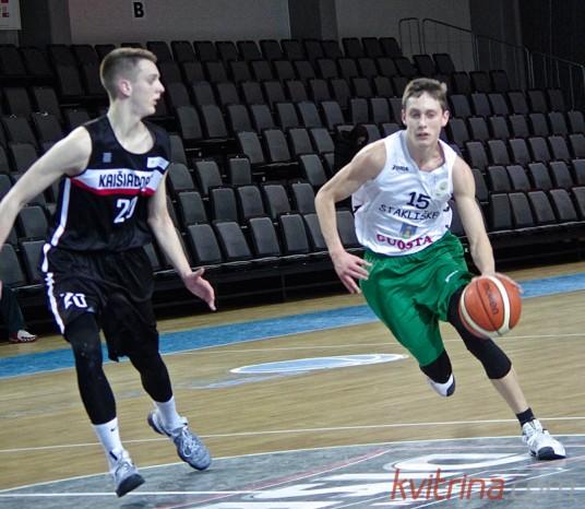 """Ernestas Mankauskas buvo rezultatyviausias """"Guostos"""" komandoje"""