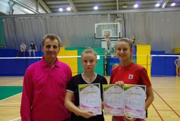 """""""Svajonės"""" klubo badmintonininkai jau varžosi tarp suaugusiųjų"""