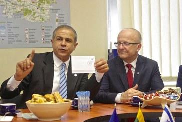 Izraelio ambasadorius A. Maimonas kvietė prieniškius nepamiršti savo istorijos