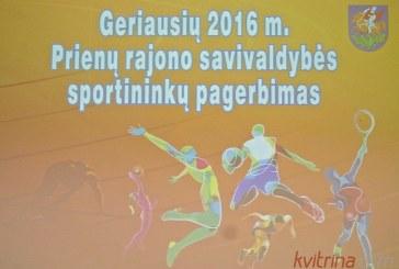 Prienų rajono savivaldybės geriausiųjų sportininkų apdovanojimai (Foto reportažas)