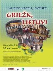 """Griežk, lietuvi"" – liaudies kapelų šventė Birštono kultūros centre"