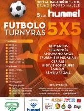 Futbolo turnyras Kauno halėje