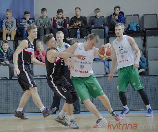 Renaldas Simanavičius ir Tadas Padegimas kartu pelnė 47 taškus ir užtikrintai vedė komandą į pergalę