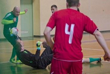 Rajono salės futbolo pirmenybėse išryškėjo lyderis