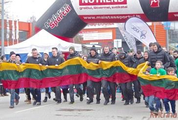 Kovo 11-osios bėgimas Prienuose (Foto reportažas)