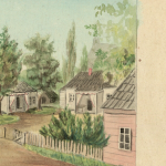 Zahorskis Vladislavas(1858-1927) akvarele  Birstono,1894