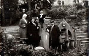 A. ir E. Kabasinskai su sunumi Vytautu