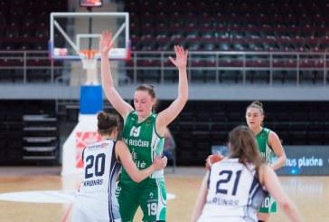 """Rita Žilinskaitė ir Livija Sakevičiūtė – geriausiųjų """"Akvilės"""" moterų krepšinio lygos žaidėjų penketuke"""