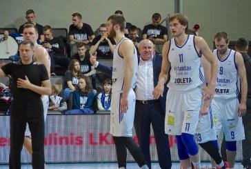 """""""Vytautas"""" po sėkmingo pirmojo kėlinio subyrėjo ir pralaimėjo """"Nevėžiui"""" (+ Foto)"""