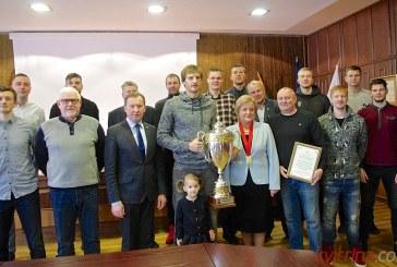 """Birštono merė pasveikino """"Vytauto"""" komandą su pergale BBL čempionate (Foto reportažas)"""