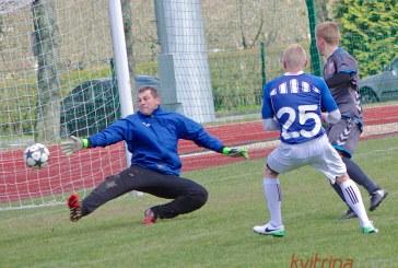 """AAFF pirmenybes """"Birštono-SC"""" futbolininkai pradėjo pralaimėjimu, bet parodė charakterį"""