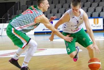 """Tragiškai varžovų krepšį atakavę """"Guostos"""" krepšininkai neišnaudojo galimybės patekti į pusfinalį jau po šių rungtynių"""
