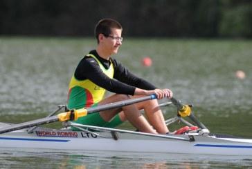 Birštono sporto centro irkluotojų startai Italijoje
