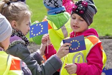 Europos dienos minėjimas Prienuose (Foto akimirkos)