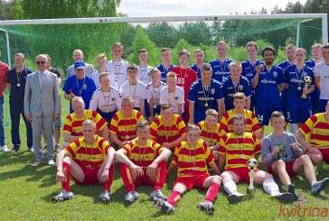 Prienų miesto gimtadienio šventė. Futbolo turnyras (Foto reportažas)