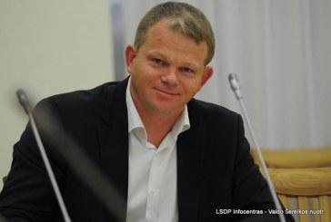 Seimo LSDP frakcijos seniūnu išrinktas Andrius Palionis