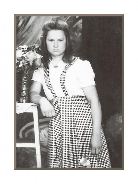 Albina Liniauskienė  - jaunystė