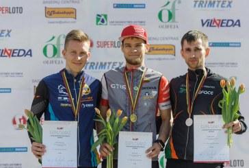 Vytautas Beliūnas – III vietos Lietuvos OS čempionato sprinto varžybose laimėtojas