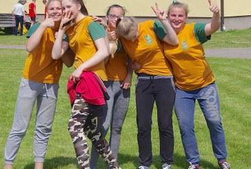 Jaunųjų šaulių lengvosios atletikos varžybos Išlauže