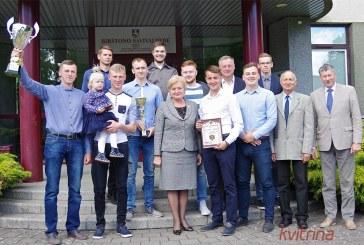"""Merės Nijolės Dirginčienės susitikimas su Birštono SC """"Olimpas"""" krepšininkais (Foto reportažas)"""