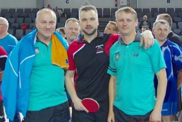 Lietuvos stalo teniso veteranų čempionatas Prienuose. Atidarymas (Foto reportažas)